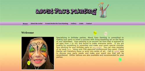 About Face Painting