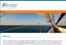 Web Design - Altman Investment Management