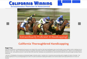 Web Design - California Winning